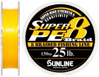 Шнур Sunline Super PE 8 Braid 150м 0260мм 25Lb/12,5кг