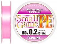 Шнур Sunline SWS Small Game PE 150м #02/0074мм 5LB 21кг