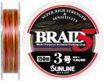 Шнур Sunline Super Braid 5 150m #30/027мм 17кг