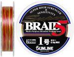 Шнур Sunline Super Braid 5 200m #10/0165мм 61кг