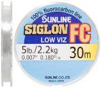 Флюорокарбон Sunline SIG-FC 30м 0180мм 22кг поводковый