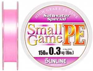 Шнур Sunline SWS Small Game PE 150м 03 6LB 29кг