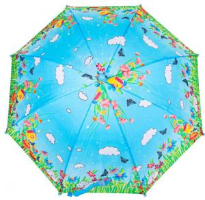 Зонт-трость облегченный детский полуавтомат Airton (Z1651-7)