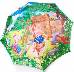 Зонт-трость облегченный детский полуавтомат Zest (Z21665-4)