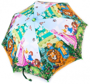 Зонт-трость облегченный детский полуавтомат Zest (Z21665-5)