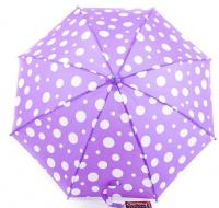 Зонт-трость детский облегченный полуавтомат Doppler, коллекция Derby (DOP72780D-violet)