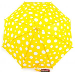 Зонт-трость детский облегченный полуавтомат Doppler, коллекция Derby (DOP72780D-yellow)