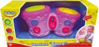 Іграшка Барабани Бонго рожеві