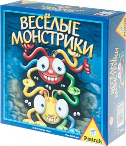 Настольная игра 'Веселые монстрики'