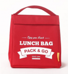 Термосумка ланч-бэг Pack&Go Lunch Bag M, красный