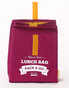 фото Термосумка ланч-бэг Pack&Go Lunch Bag L, красный #5