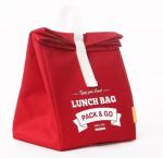 Подарок Термосумка ланч-бэг Pack&Go Lunch Bag L, красный