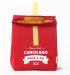 фото Термосумка ланч-бэг Pack&Go Lunch Bag L, красный #2