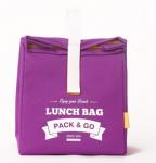 фото Термосумка ланч-бэг Pack&Go Lunch Bag L, красный #8
