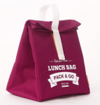 фото Термосумка ланч-бэг Pack&Go Lunch Bag L, красный #4