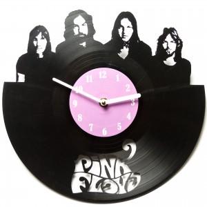 Подарок Настенные часы из винила Pink Floyd