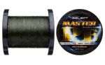 Шнур Select Master PE 1000 м (темно-зеленый) 0.10 мм 13 кг