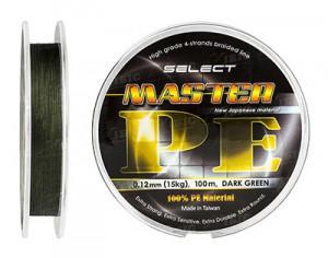 Шнур Select Master PE 150 м (темно-зеленый) 0.14 мм 17 кг