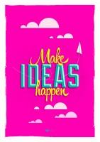 Подарок Постер 'Воплощай идеи'