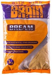 Прикормка Brain BREAM 1 кг желтый
