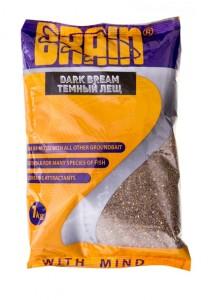 Прикормка Brain DARK BREAM 1 кг