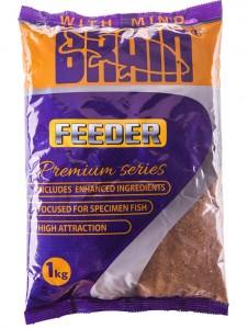 Прикормка Brain PREMIUM FEEDER 1 кг