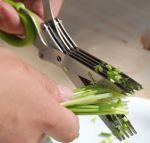Подарок Ножницы для зелени с зубцами
