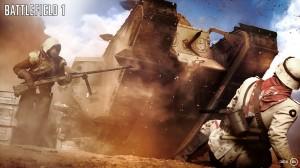 скриншот Battlefield 1 Early Enlister Deluxe Edition PS4 Battlefield 1 Издание Первого добровольца - Русская версия #6