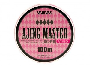Шнур Ajing Master DC-PE Vivid 3.5 Lb (150м)