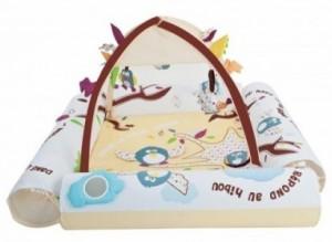 Развивающий коврик Ludi 'Природа' с надувными бортиками