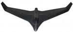 Летающее крыло Skywalker Falcon 1340 мм KIT, черный (SW-0908B)