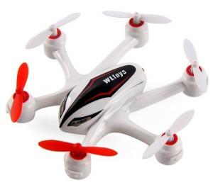 Гексакоптер на радиоуправлении WL Toys Q282J с камерой HD 720p (белый)