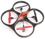 Квадрокоптер на радиоуправлении 2.4GHz WL Toys V606 Cyclone Mini (красный)