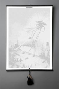 Подарок Книга-картина 'H. G. Wells. The War of the Worlds'