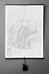 Подарок Книга-картина 'Jules Verne. Le tour du monde en 80 jours'