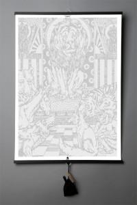 Подарок Книга-картина 'La Fontaine. Fables'