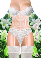 Подарок Фартук женский 'Кружевное белье'