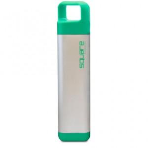 Подарок Бутылка Clean Bottle Stainless Square Green
