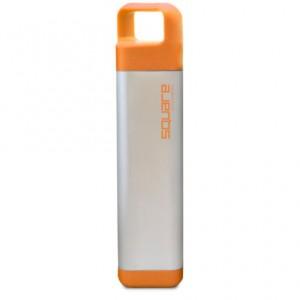 Подарок Бутылка Clean Bottle Stainless Square Orange