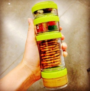 фото Набор контейнеров Blender Bottle Gostak Starter 4-Pack Orange #3