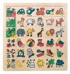 Настольная деревянная игра Bino 'Что к чему относится?'