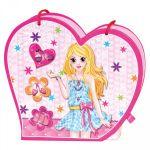Набор 'Музыкальная сумочка с зеркалом и дневник на замочке' Bino