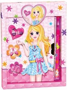 Подарочный набор 'Дневник на замочке и шариковая ручка' Bino