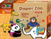Игровой набор для творчества Avenir Clever Hands Paper Zoo