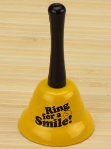 Подарок Колокольчик 'Для улыбки'