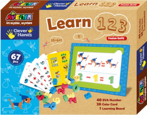 Развивающая игра Avenir Clever Hands Learn 1 2 3
