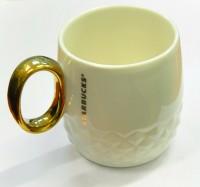 Подарок Керамическая чашка 'Starbucks Gold'