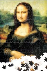 Подарок Пазлус Пикселюс 'Мона Лиза'