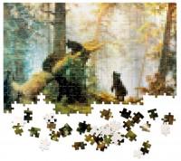 Подарок Пазлус Пикселюс 'Утро в сосновом лесу'