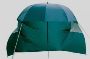 Зонт раскладной Lineaeffe для карповой рыбалки с тентом от ветра